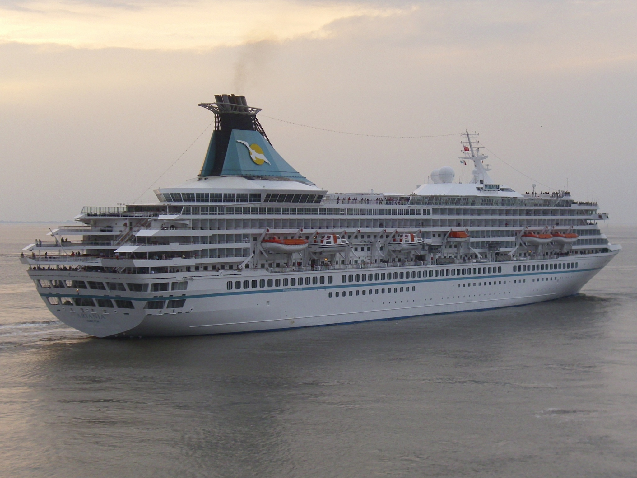 FileCruise Ship Artania 20120902 2jpg  Wikimedia