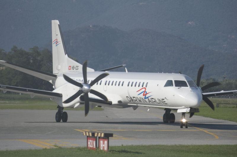 <em>Darwin Airline</em> abbandona il &#8220;Gino Lisa&#8221;? Dal 5 novembre tutti i voli potrebbero essere cancellati