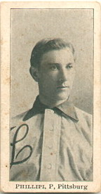 Deacon Phillippe pitched  a six-hit shutout for Pittsburgh in Game 3.