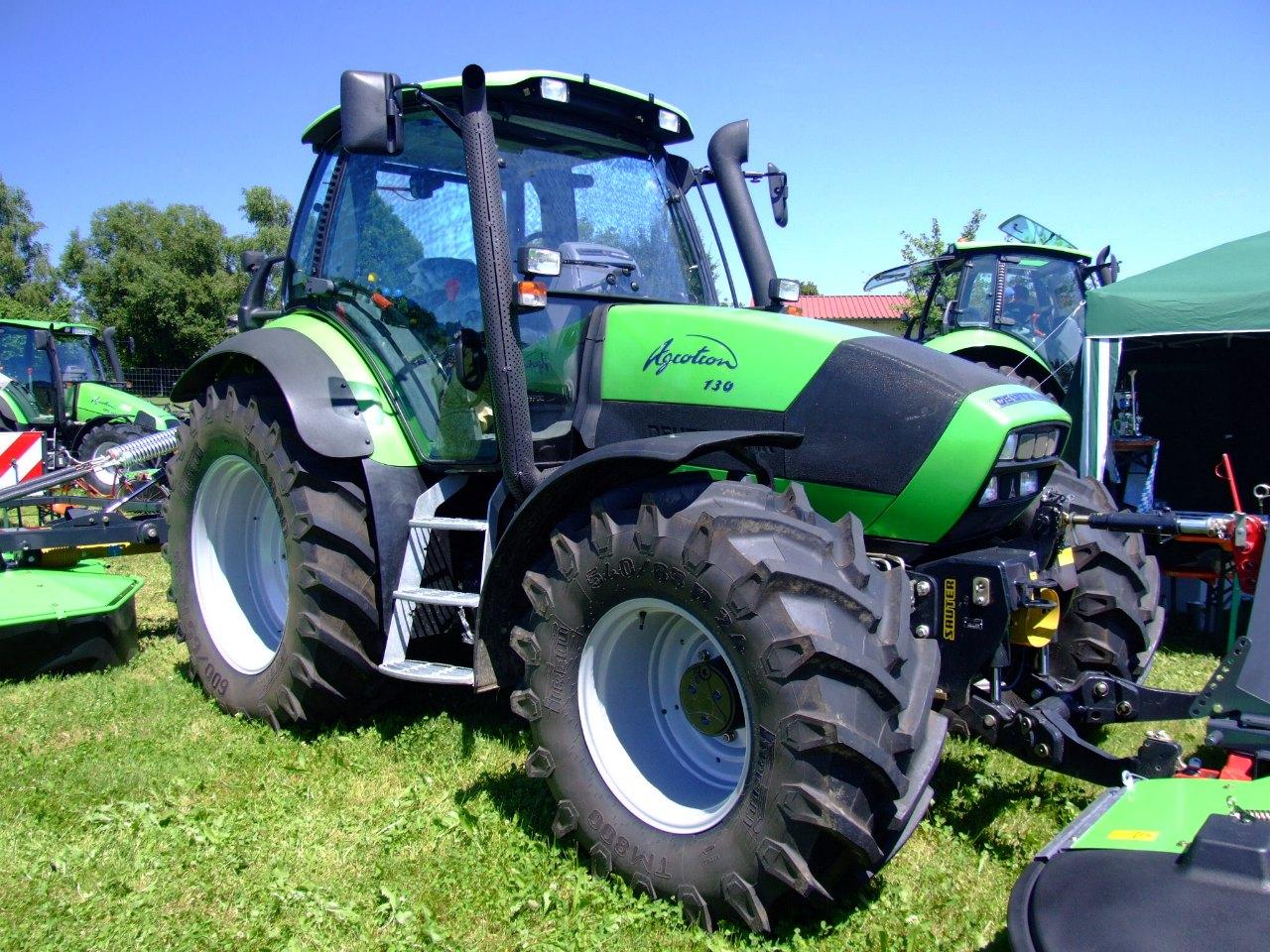 Schneller Anschluss für Traktor