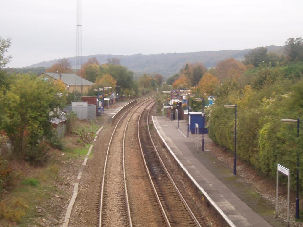 dorking west railway station