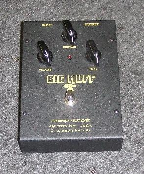 Electro-Harmonix Big Muff Pi (Russian Sovtek version)
