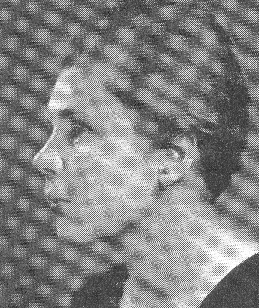 Elizabeth Bishop, High School Yearbook, 1934
