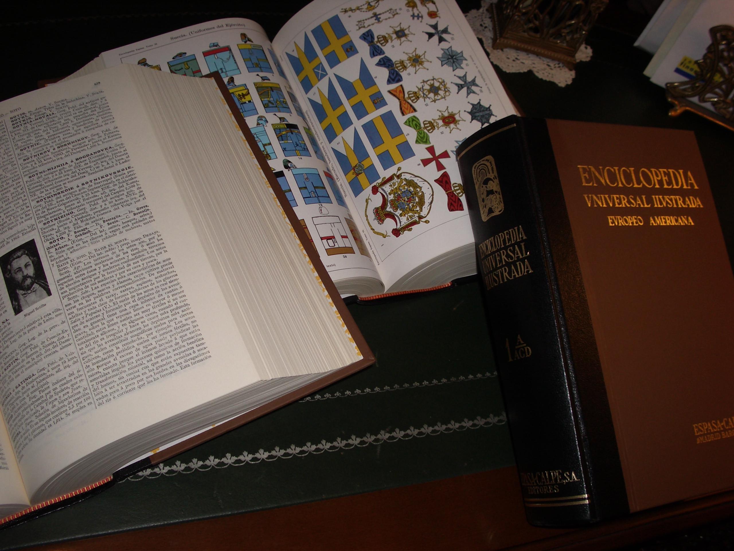 Depiction of Enciclopedia Espasa