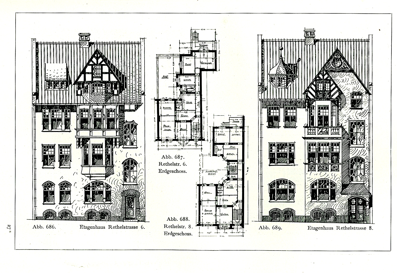file etagenh user rethelstra e 6 und 8 in d sseldorf entworfen vor 1904 von dem d sseldorfer