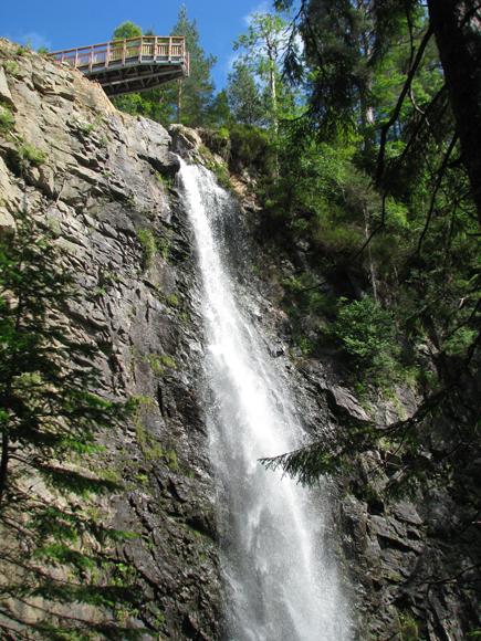 Falls of Plodda on the Allt na Bodachan - geograph.org.uk - 1525116