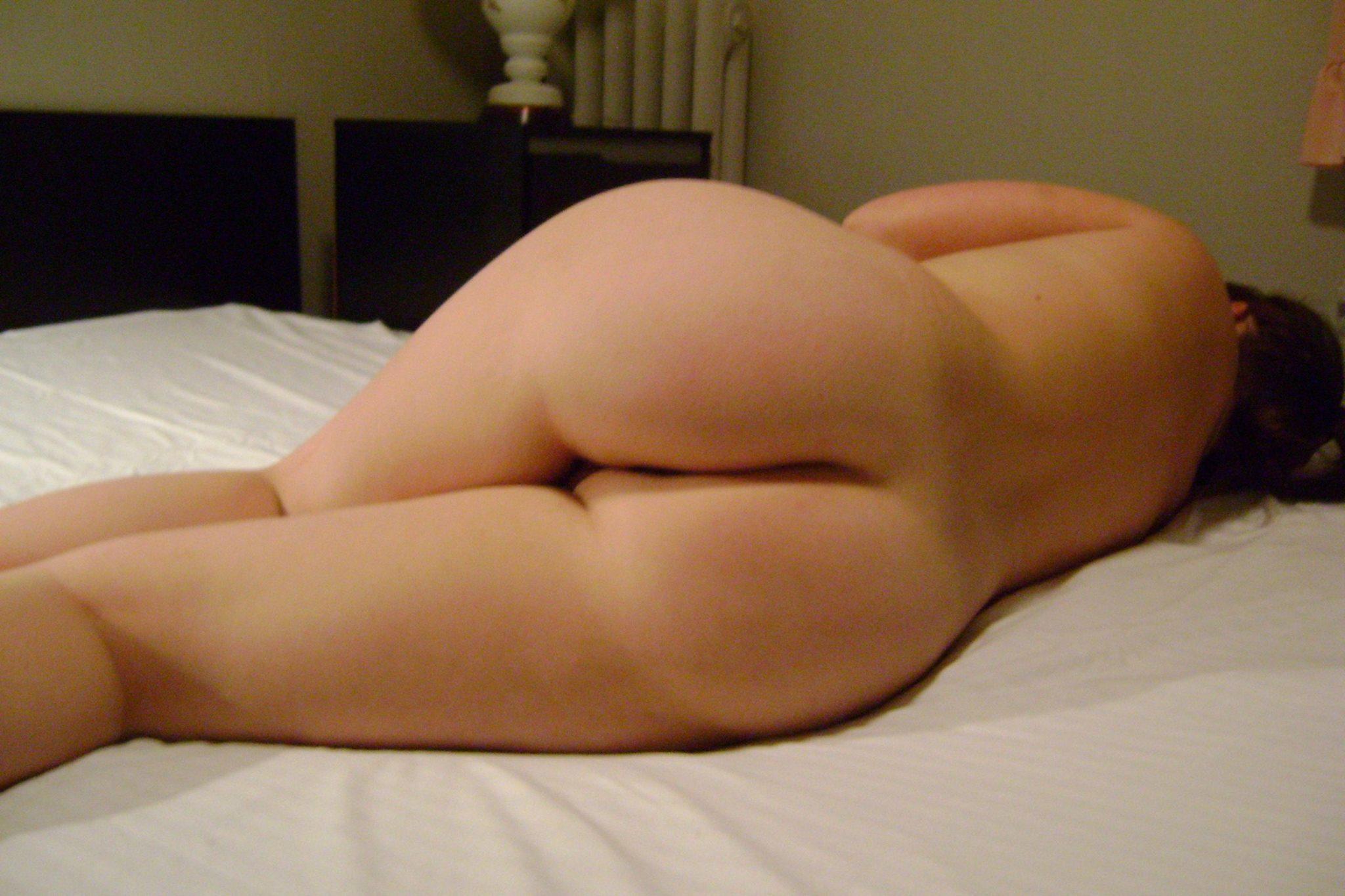 de nues Fesse femme