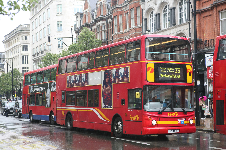 File First London Bus Tna33350 Lk53 Fcl 2003 Transbus