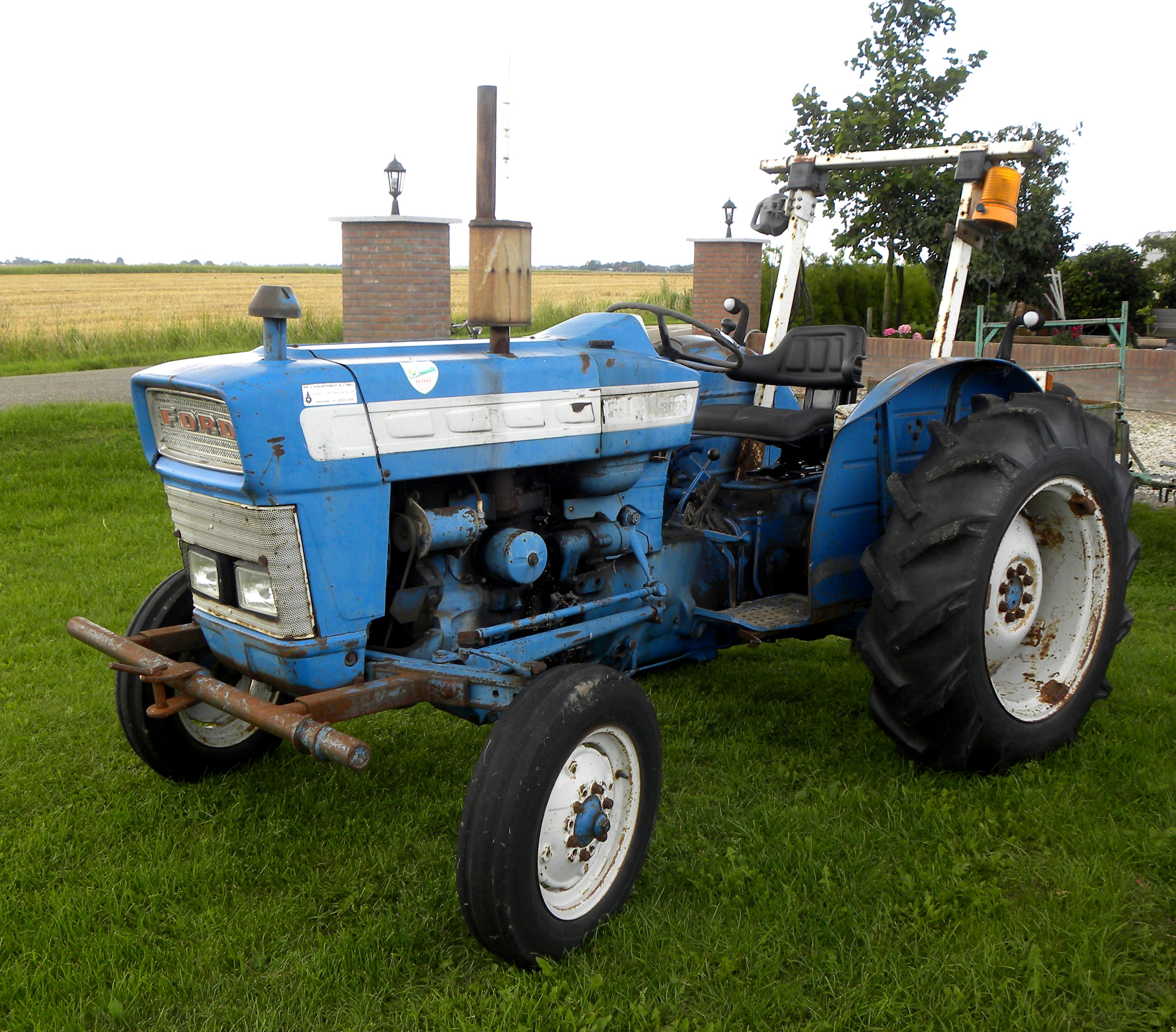 1965 Ford 3000 Tractor : Ford manual free download