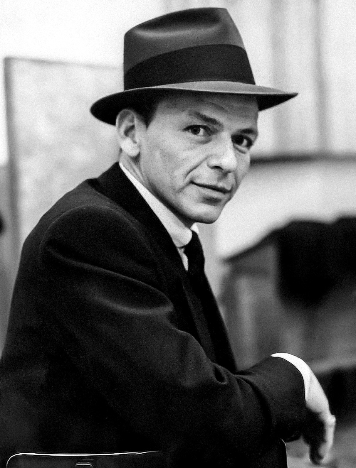 Sinatra, circa October 1957, during recording of the album ''Come Fly with Me''