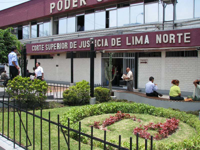 Depiction of Distrito Judicial de Lima Norte