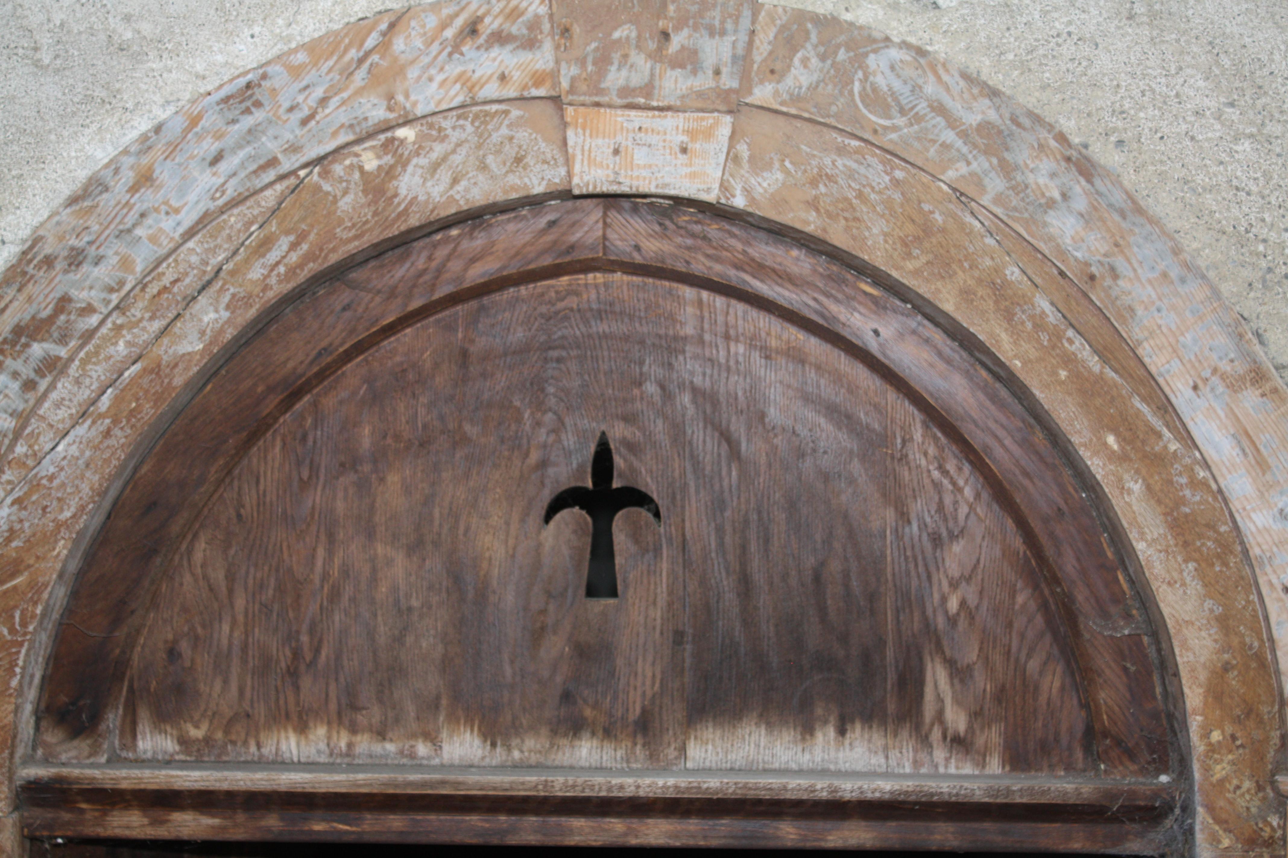 File gabas commune de laruns 64 imposte de la porte d for Porte de la chapelle