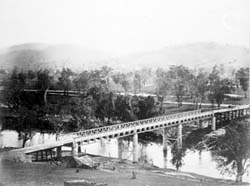 Gundagai bridge 1885
