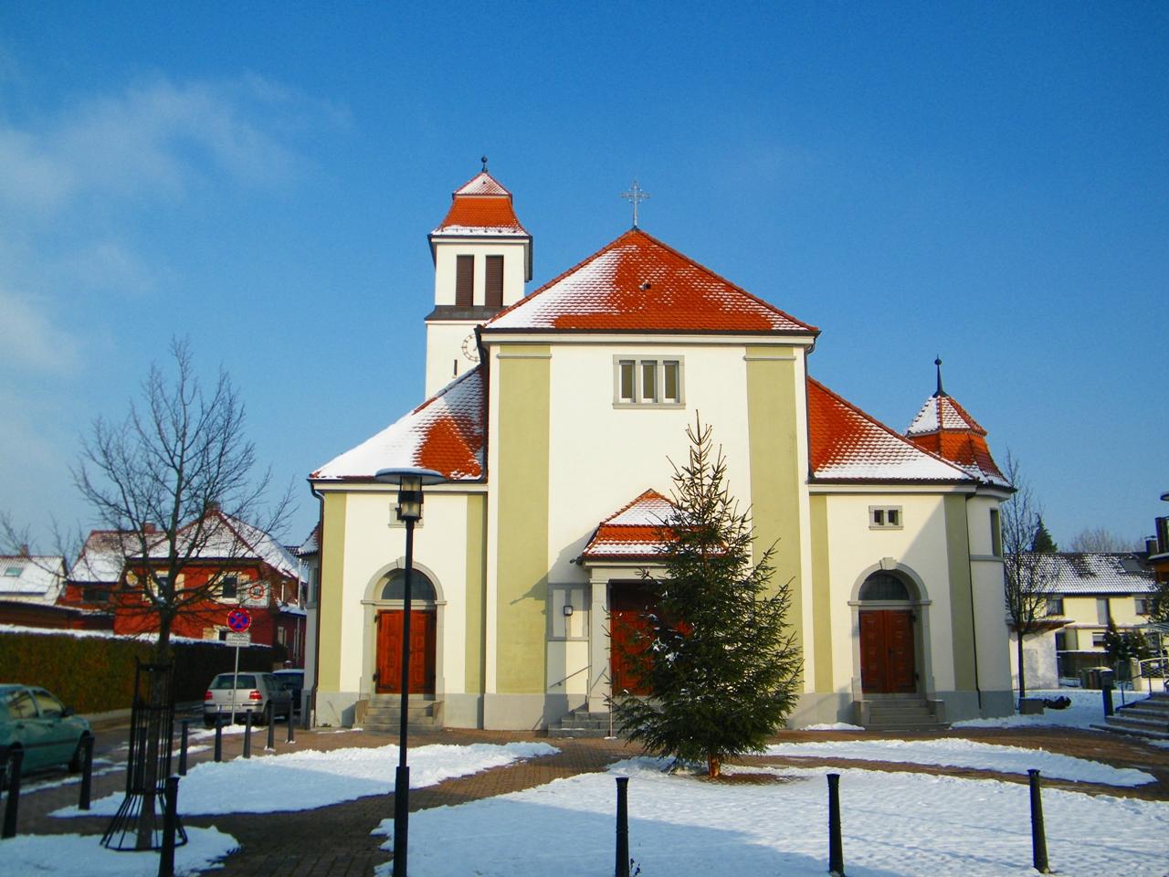 Zeitlos Würmersheim file herz jesu kirche würmersheim panoramio jpg wikimedia