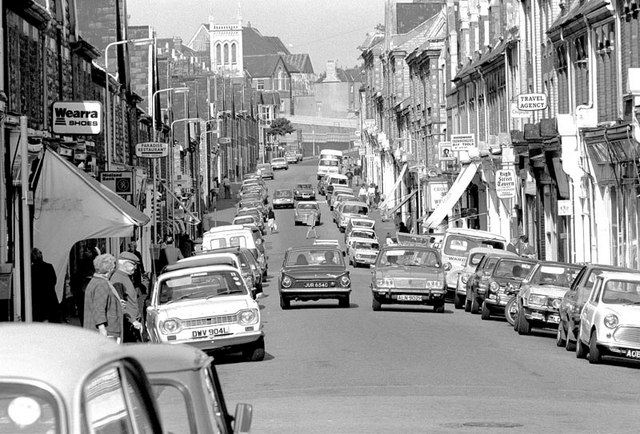 File High Street Barry In The 1970 S Geograph Org Uk