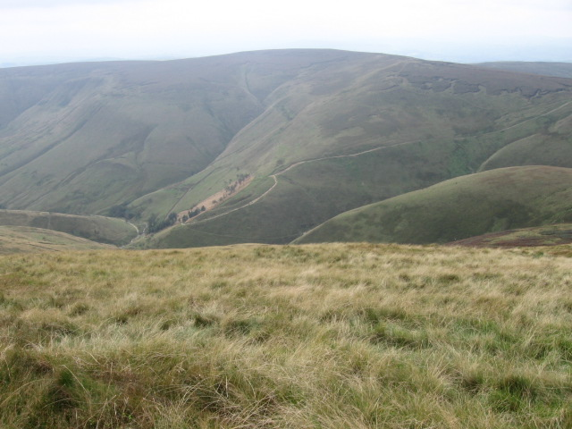 Hillside from Edale Head - geograph.org.uk - 963014