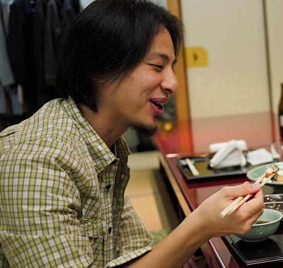 Hiroyuki Nishimura's dinner 20110506