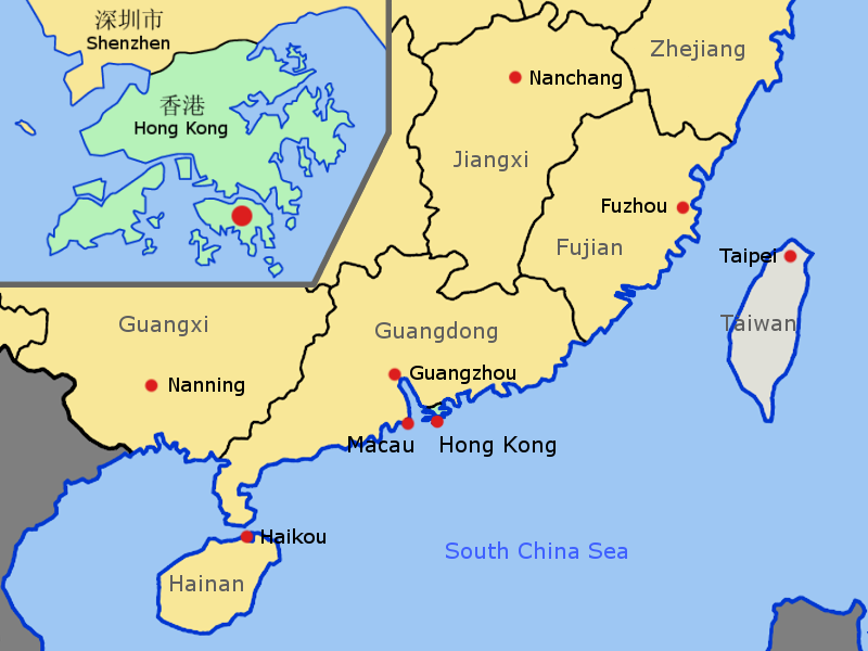 Sea Ports of China CN  International container shipping