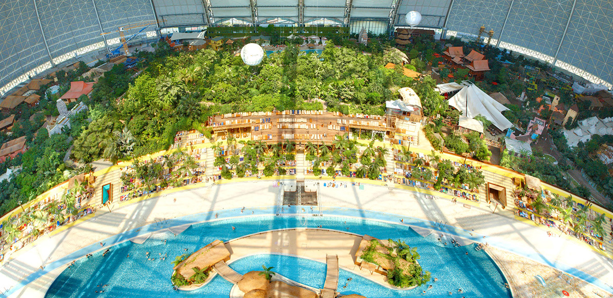 Tropical Islands Resort Near Berlin