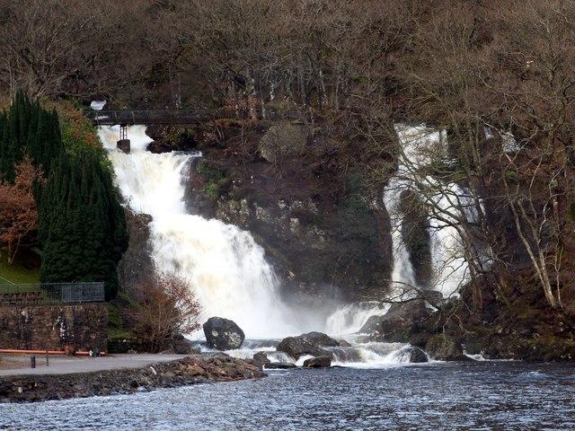 Inversnaid Falls - geograph.org.uk - 1129656