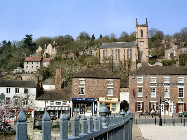 Ironbridge Town - geograph.org.uk - 1637666