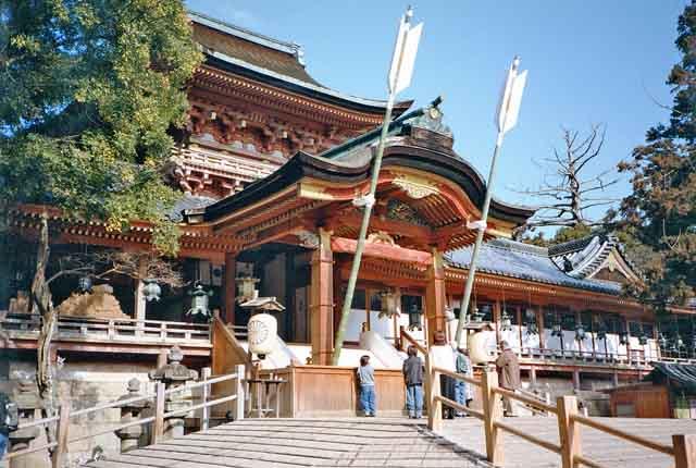 Religions du Japon ^^ IwashimizuHachimangu