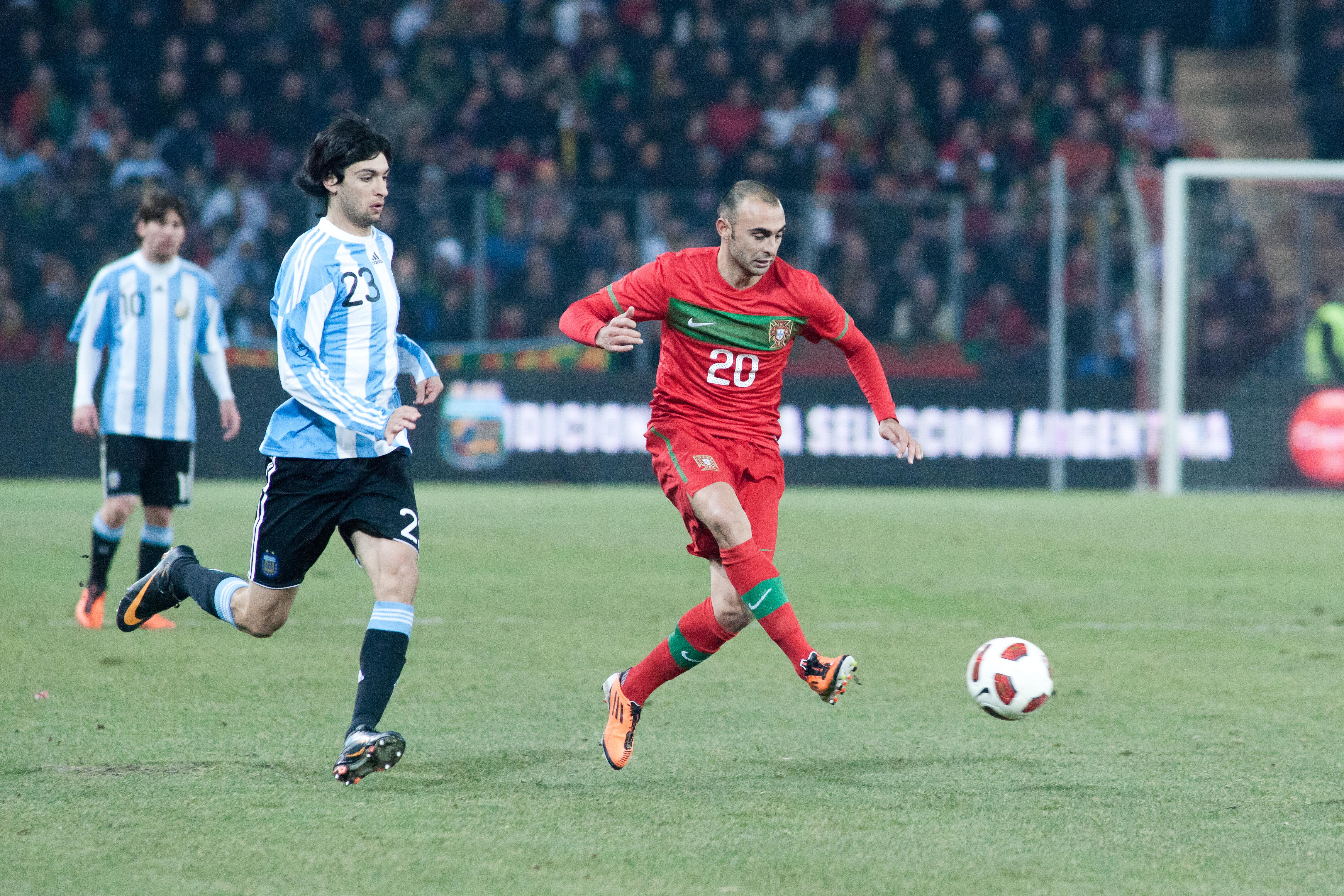 File Javier Pastore L Carlos Martins R Portugal vs