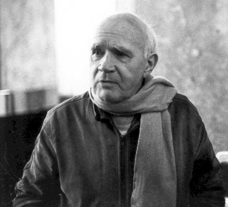 Jean Genet, 1983 r., fot.: International Progress Organization
