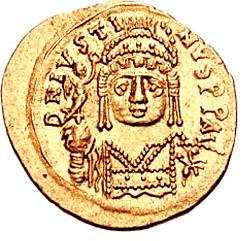 Justin II Emperor of the Byzantine Empire from 565 to 574