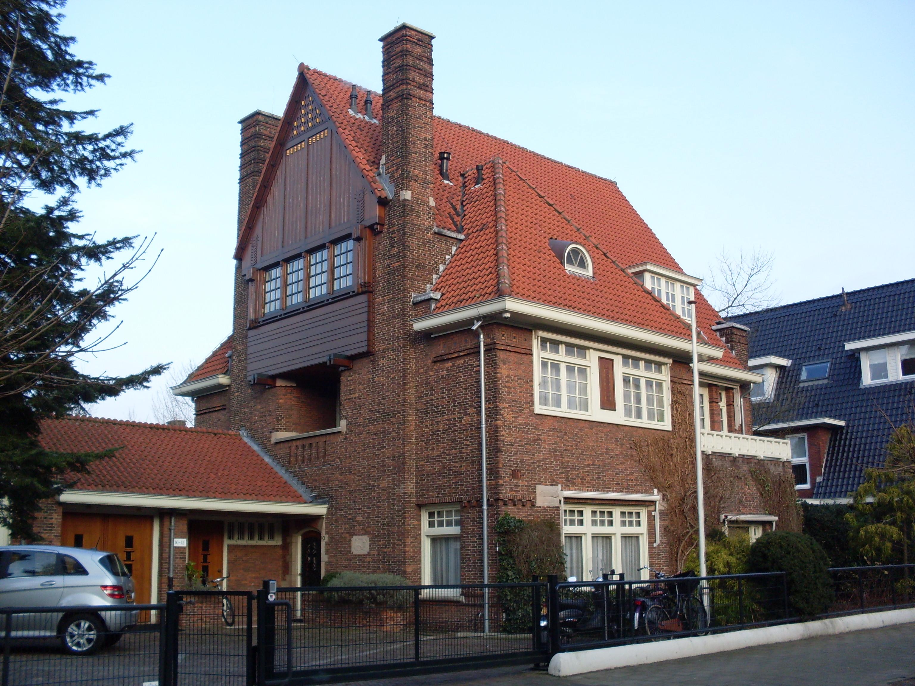 La pergola in amsterdam monument rijksmonumenten.nl
