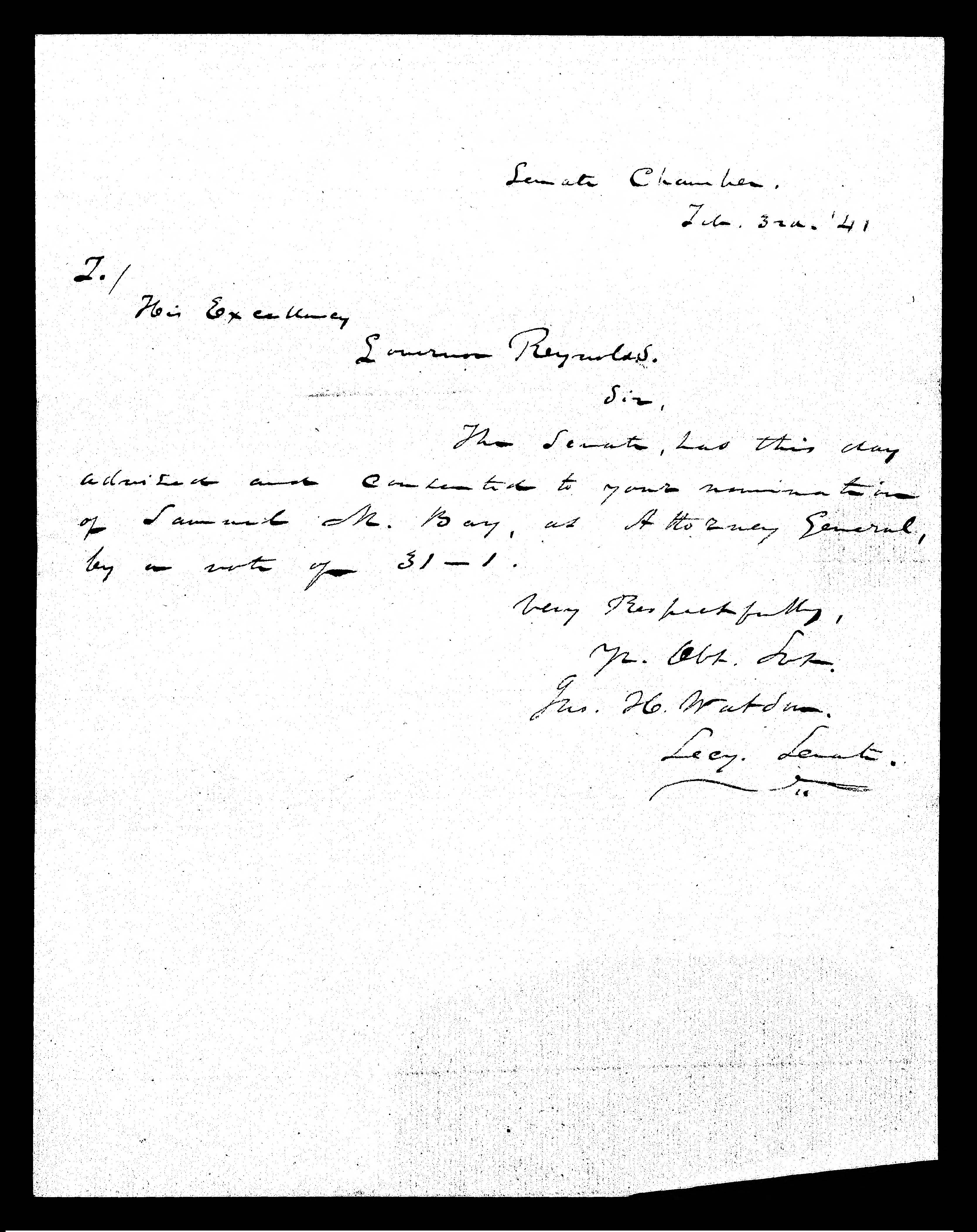 Thomas Jefferson Letter To Colonel Charles Yancey January