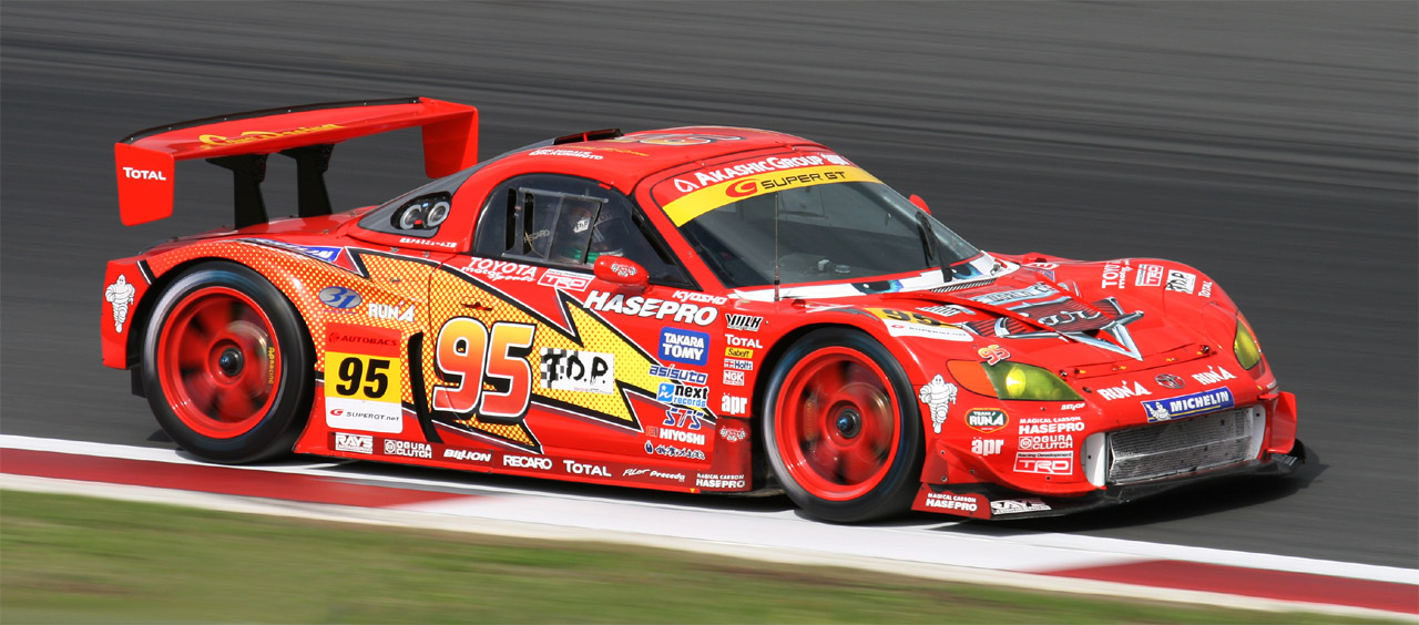 File Lightning McQueen apr MR S 2008 Super GT on mustang with viper engine