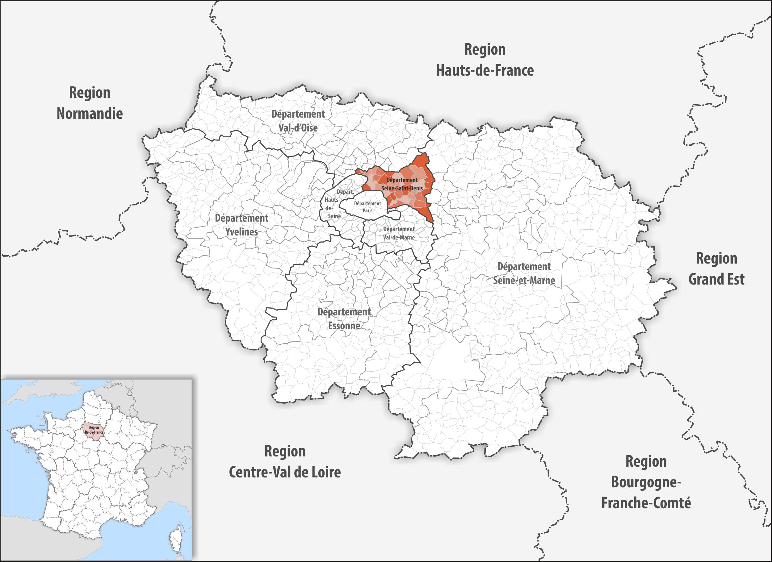 Saint Denis France Map.File Locator Map Of Departement Seine Saint Denis Png Wikimedia