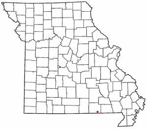 Myrtle, Missouri Unincorporated community in Missouri