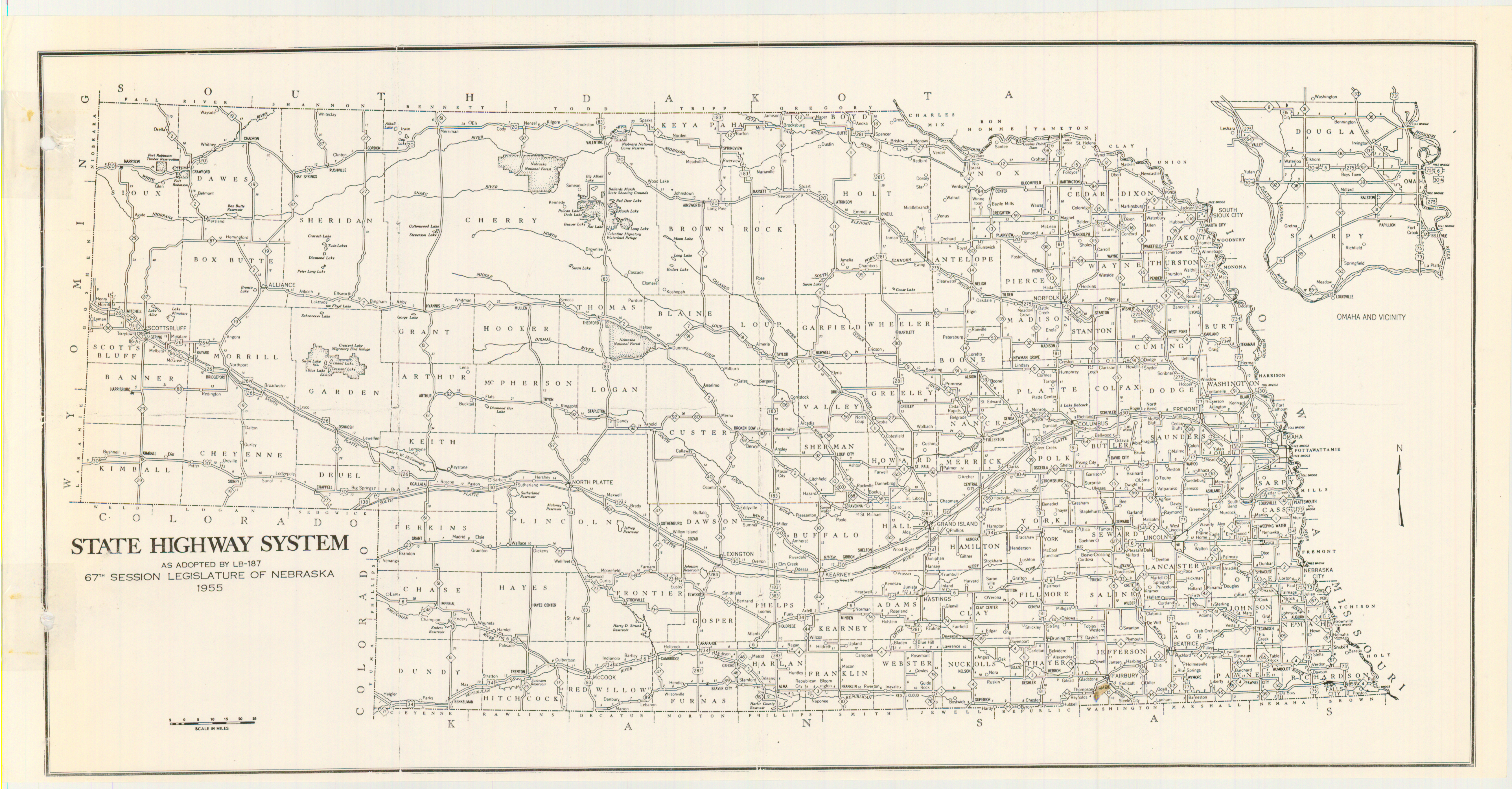FileMap Nebraska State Highway System Png Wikimedia - Nebraska state map