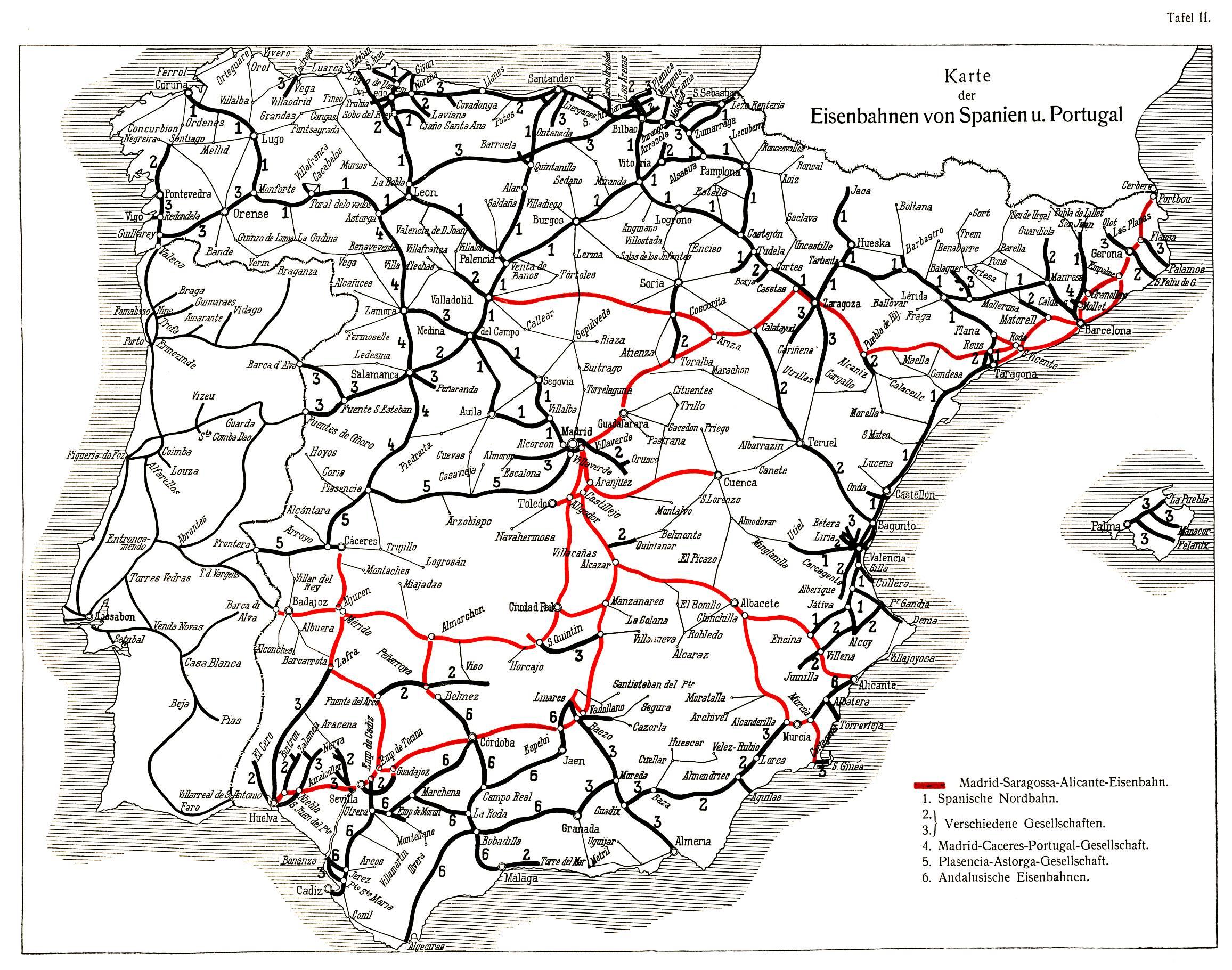 Spaın Traın Map Cataluña Rail Network Ave - Wikipedia