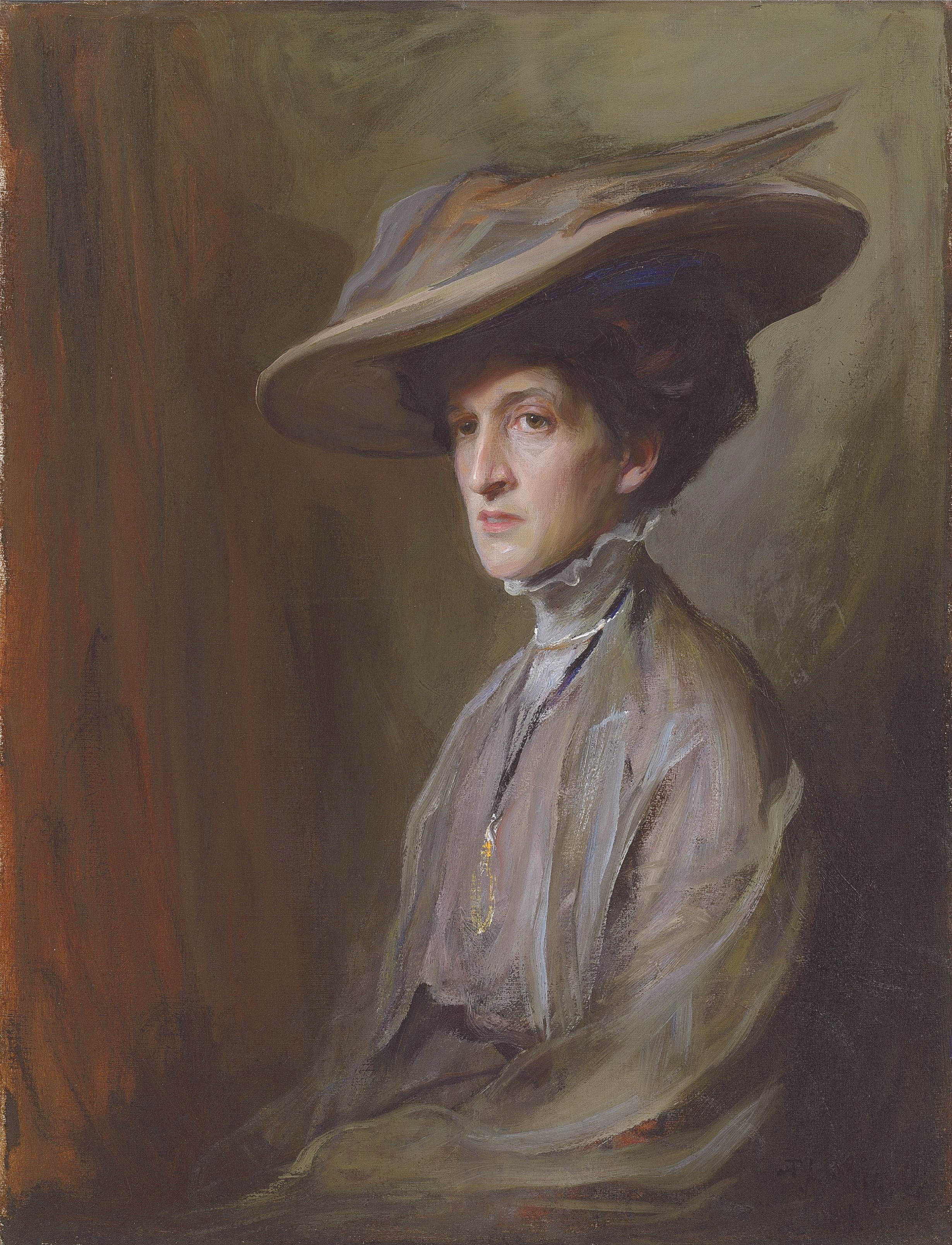 Portrait of Margot Asquith