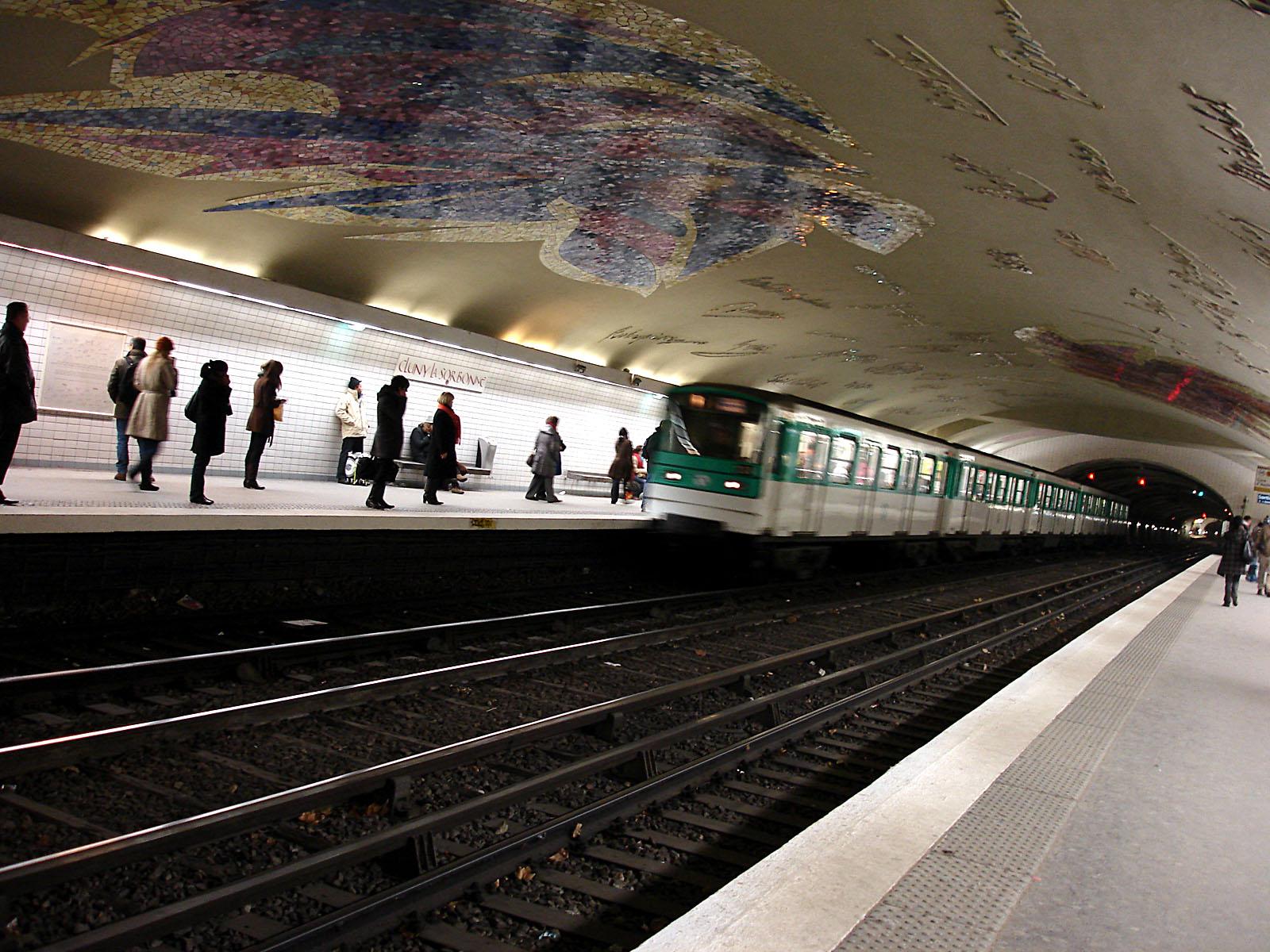 Cluny la sorbonne paris m tro wikipedia - Station metro jardin du luxembourg ...