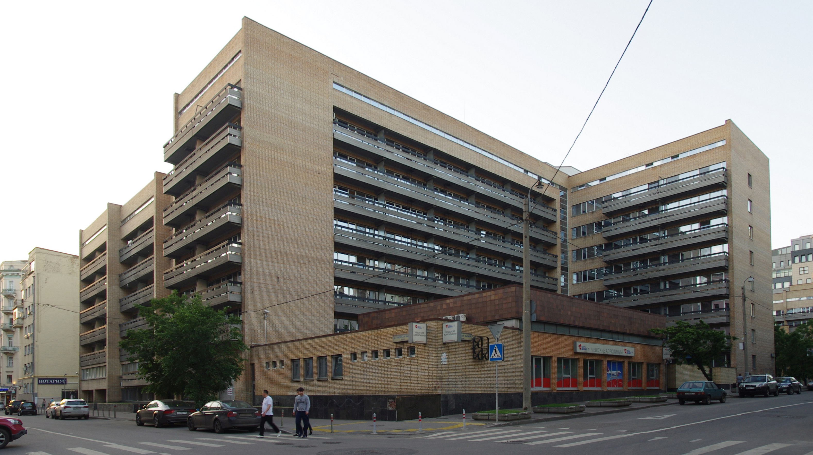 File Moscow Appartment Complex Of Chech Diplomatic