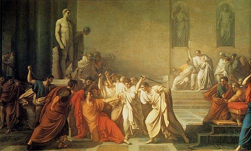 Et tu, Brute? Vincenzo Camuccini: Death of Caesar