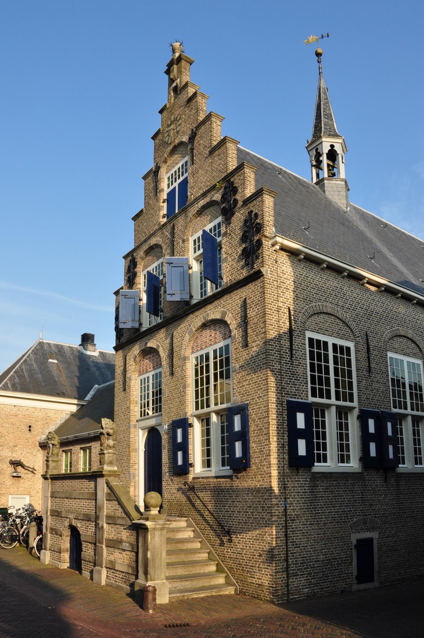 Raadhuis in Haastrecht | Monument - Rijksmonumenten.nl