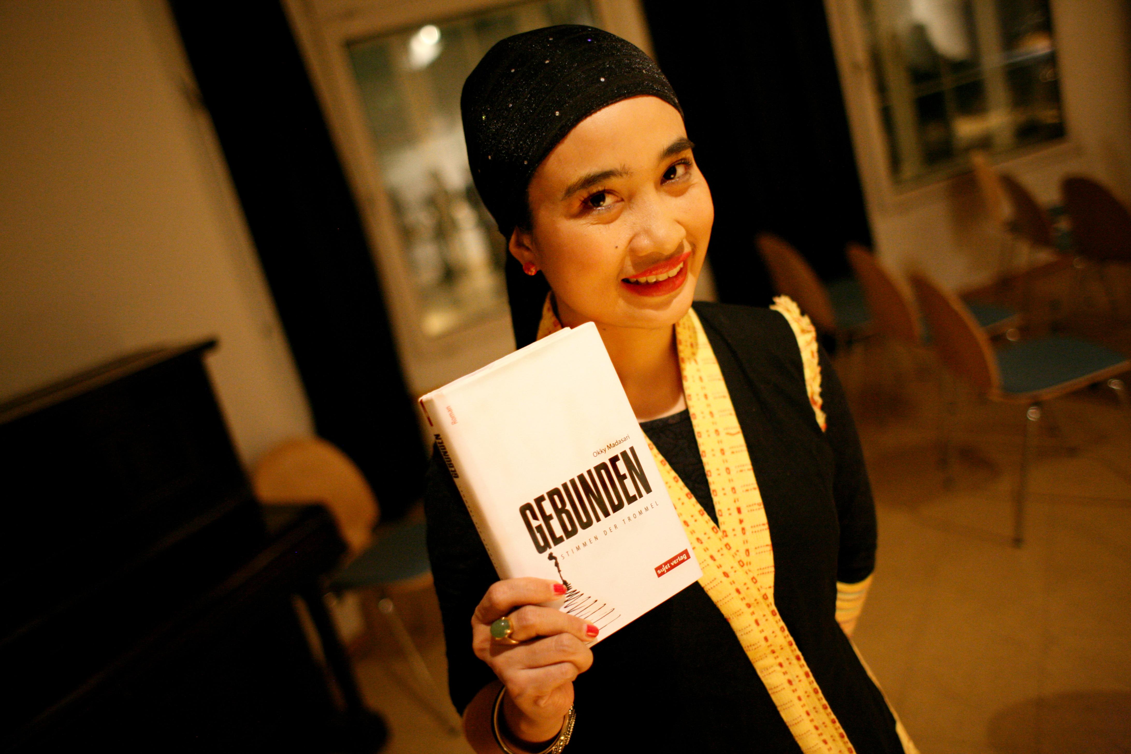 Okky Madasari And Her German Translation Novel In Hamburg October Agnez Mo Instagram View Has