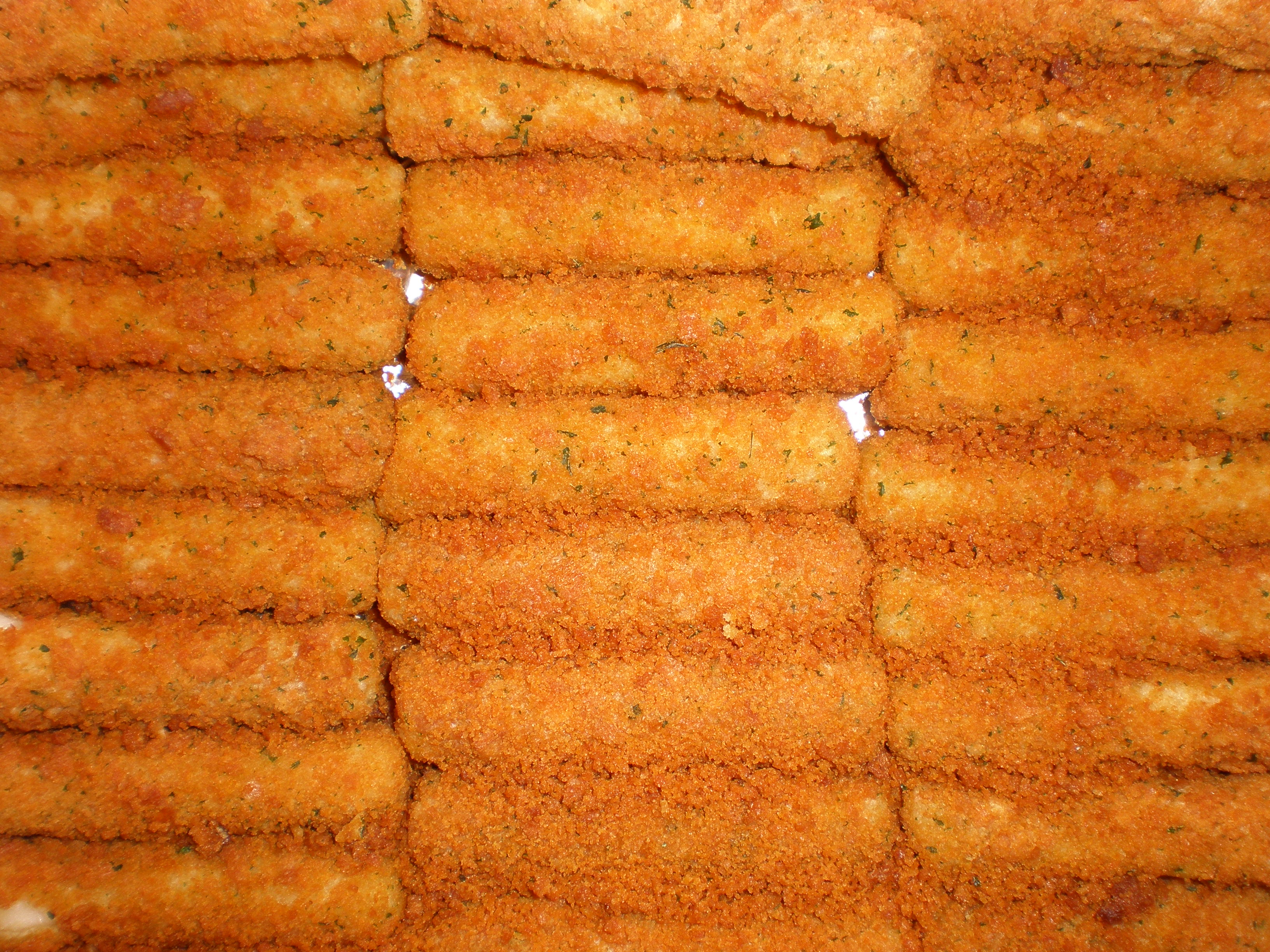 JPG Oven-baked mozzarella sticks