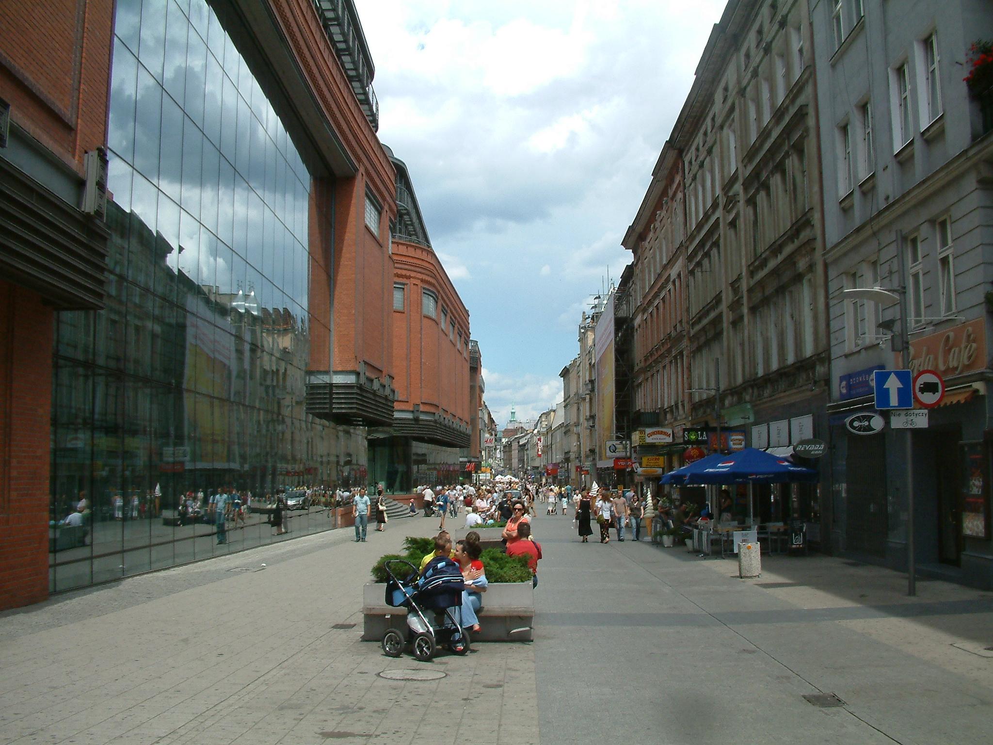 Ulica Półwiejska w Poznaniu