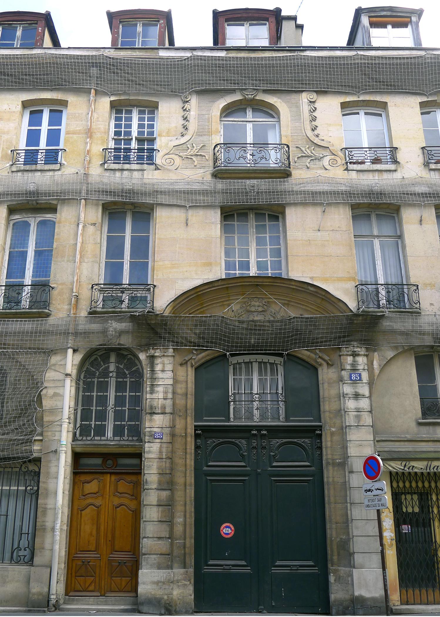 23 Rue Du Cherche Midi file:p1240802 paris vi rue du cherche-midi n85 rwk