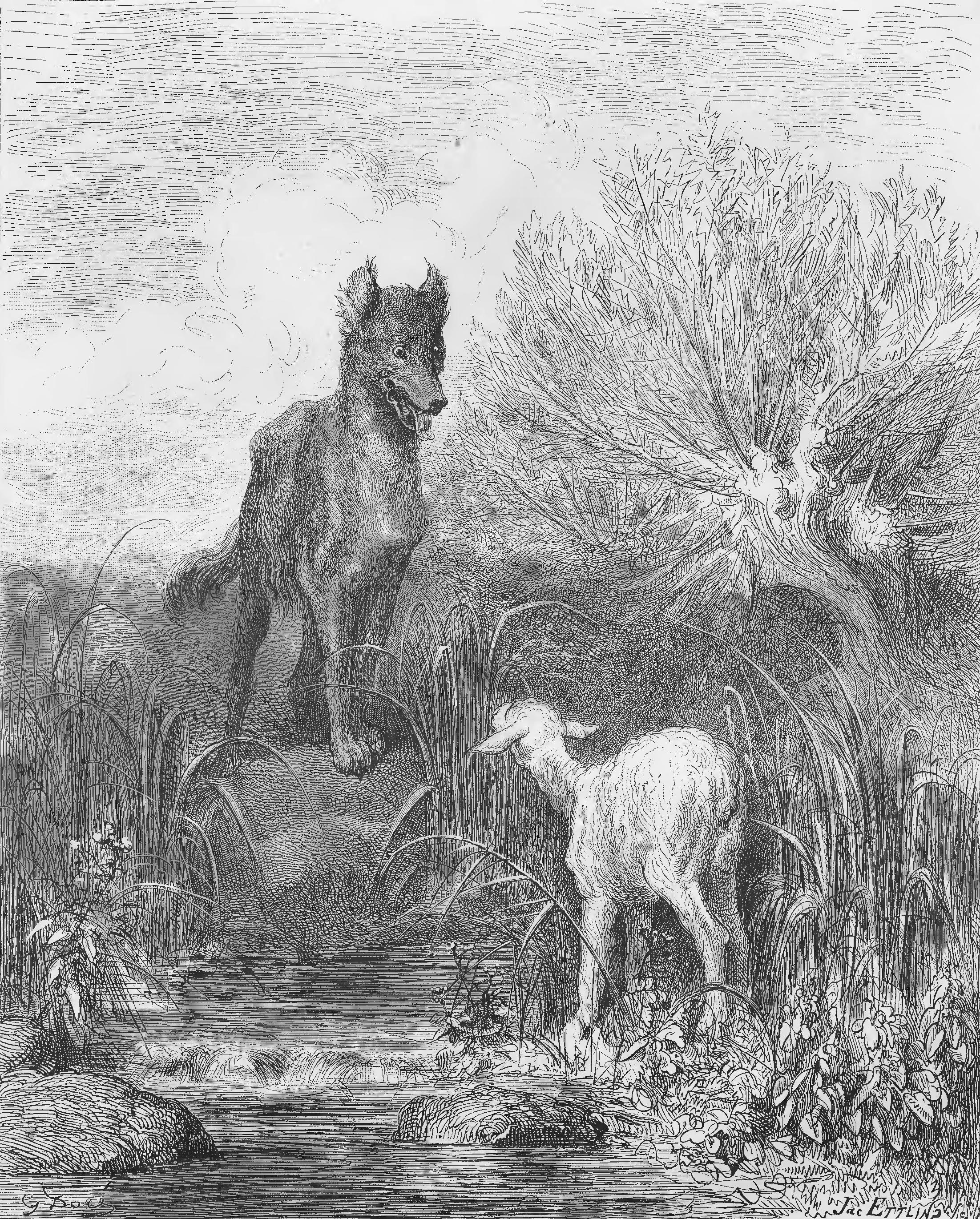 Le Loup Et L Agneau Wikipedia