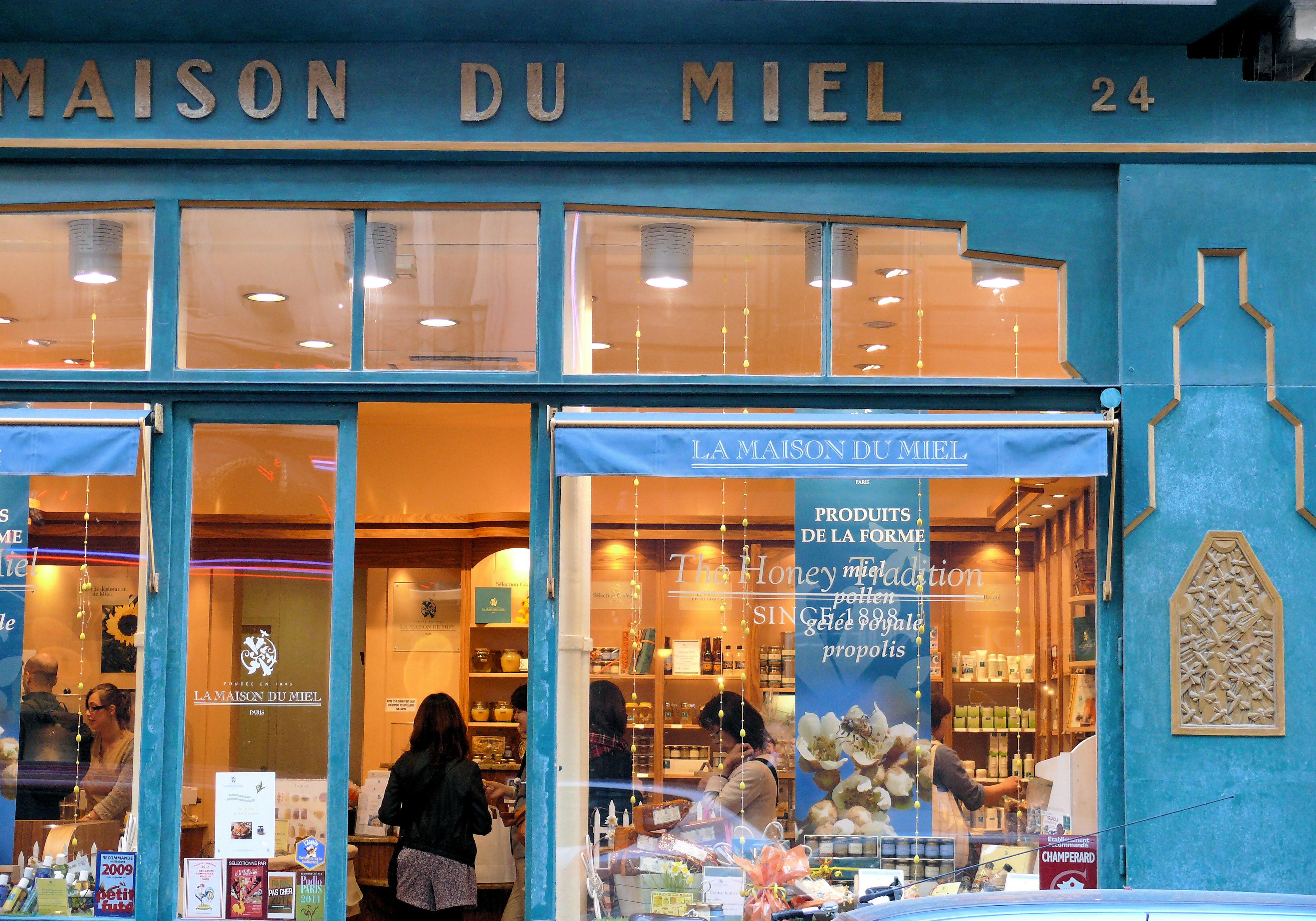 File paris 9 maison du miel 052 jpg wikimedia commons for Maison du the paris