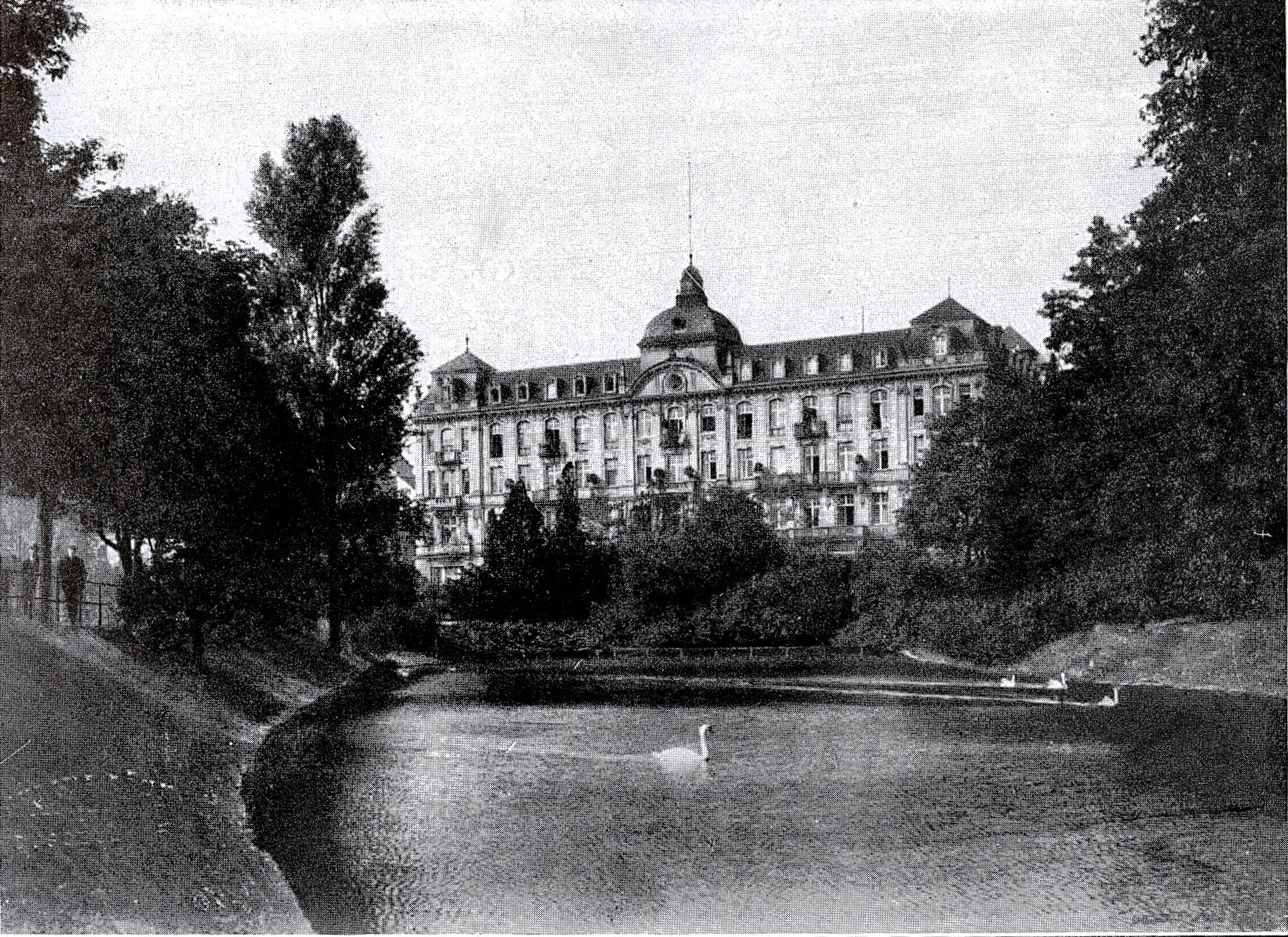 Parkhotel Düsseldorf, where the speech was held.