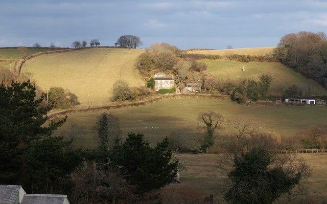 Pelyntor Cottage - geograph.org.uk - 1761057