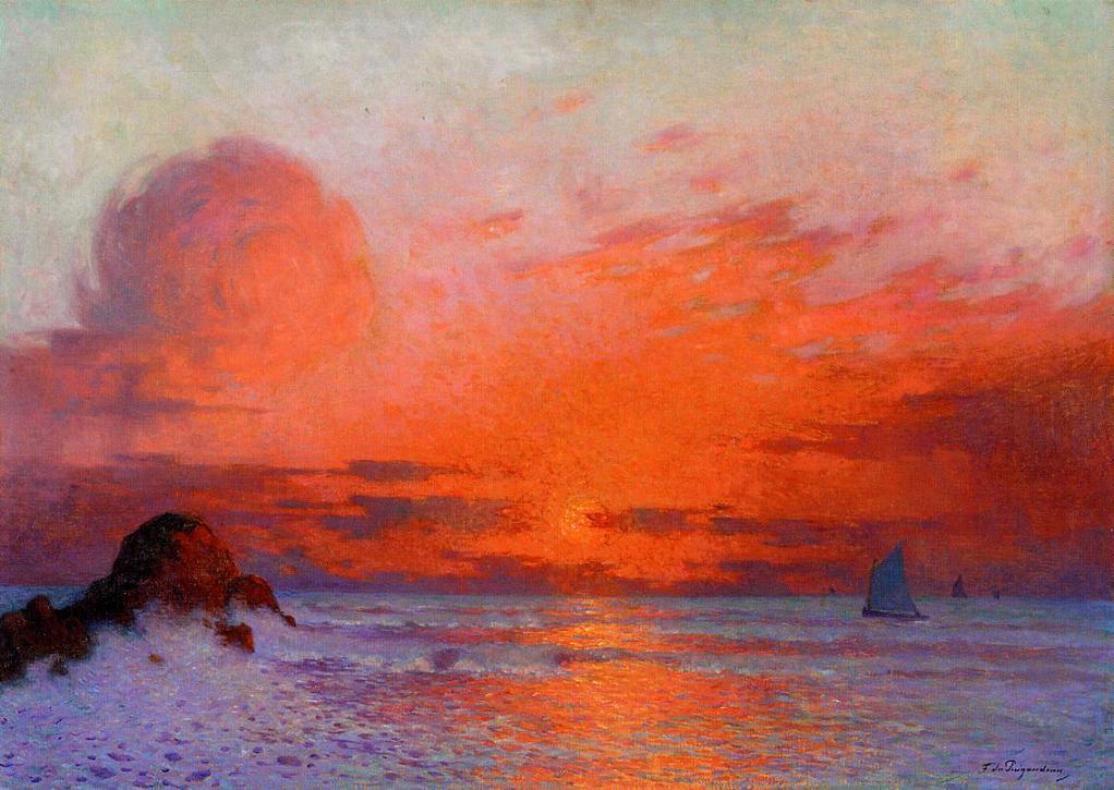 California Impressionist Painting